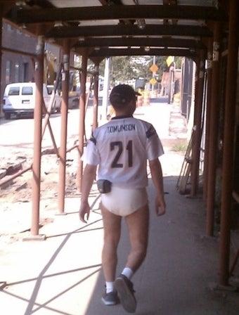 A Tomlinson Fan Wears Adult Diapers in Brooklyn. Why?