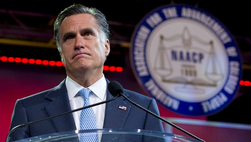 NAACP Boos Romney and His Promise To Eliminate Obamacare