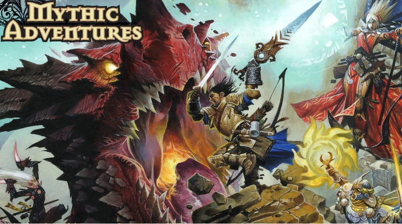 How Mythic Adventures Massively Raises the Stakes for Pathfinder