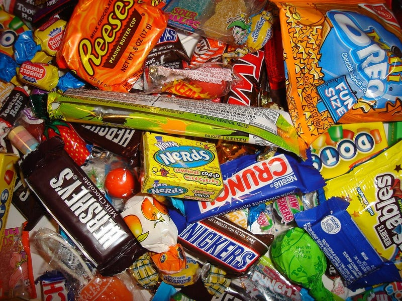 Halloween Trick-Or-Treating Treats, Ranked