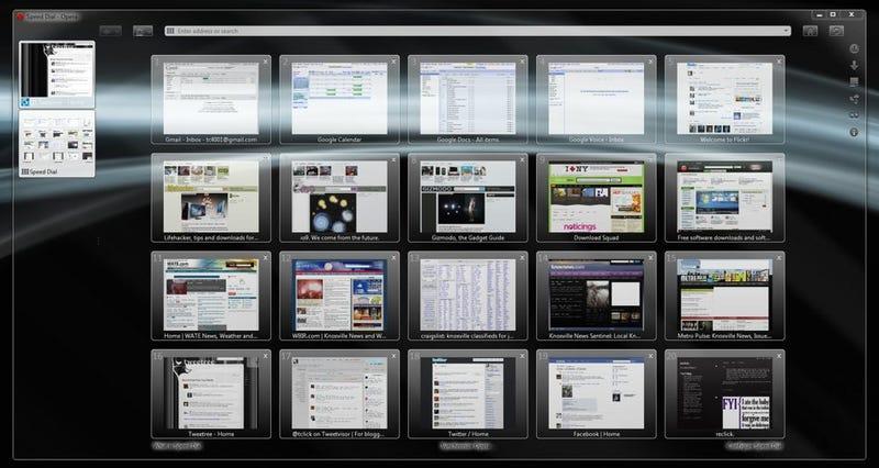 The All-Glass Opera Desktop