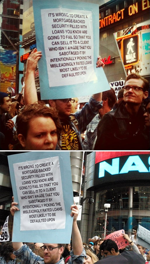 How Occupy Wall Street Cost Me My Job