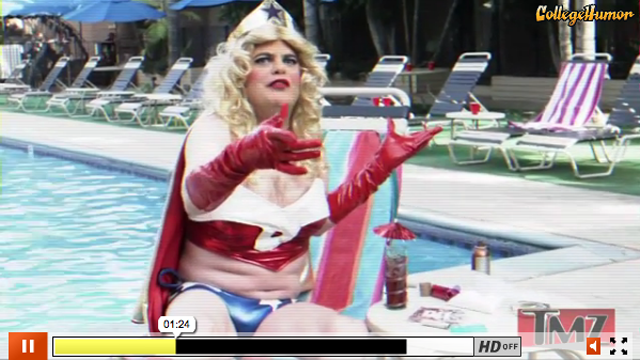 This Week's Top Web Comedy Video: The Fall of Dyna-Woman