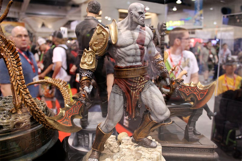 Comic-Con's Most Pissed Statue? The God of War!