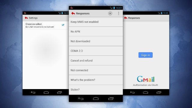 Gmail Canned Responses Brings Quick Email Replies to Android