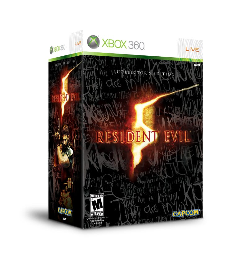 And Now The North American Resident Evil 5 Collector's Edition