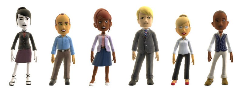 Xbox Avatar Clothing — Serious Business