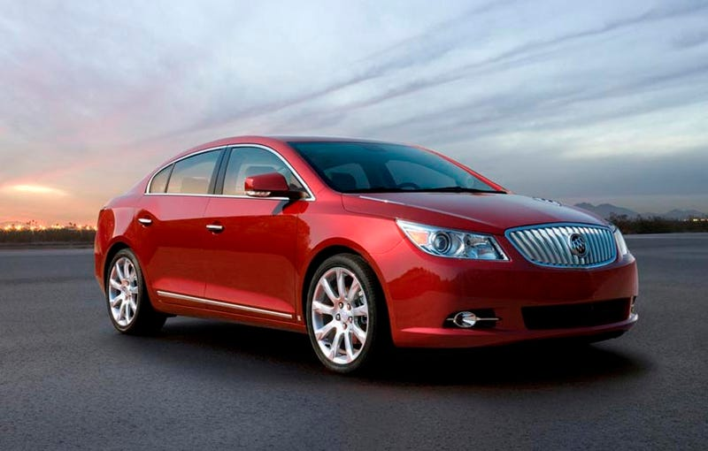 2010 Buick LaCrosse To Start At $27,835
