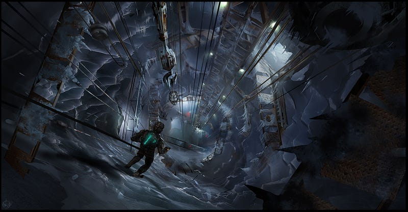 The Cold, Not-So-Lonely Art Of Dead Space 3