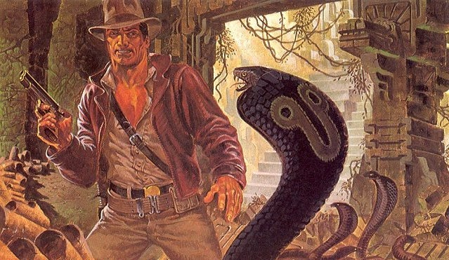 Comics legend Jim Steranko shows us his early concept art for Indiana Jones