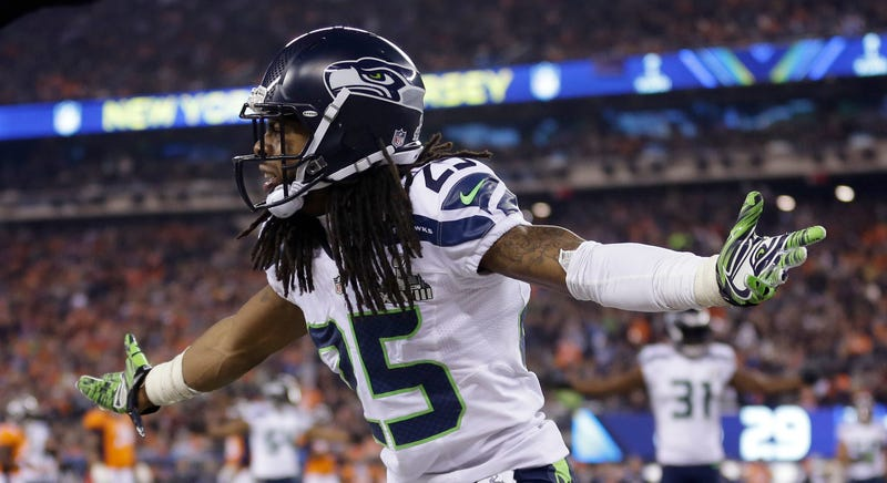 Now A Champion, Richard Sherman Deals With An Insult In The Best Way