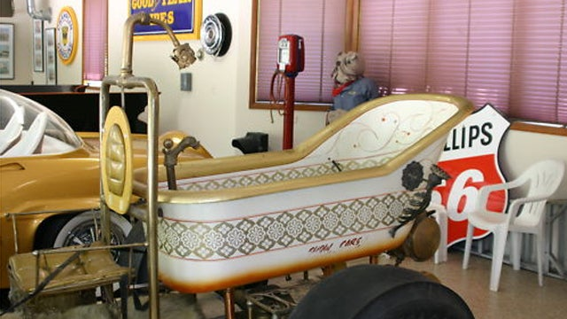 Bathtub Buggy is what happens when you mix bathroom fixtures with custom cars