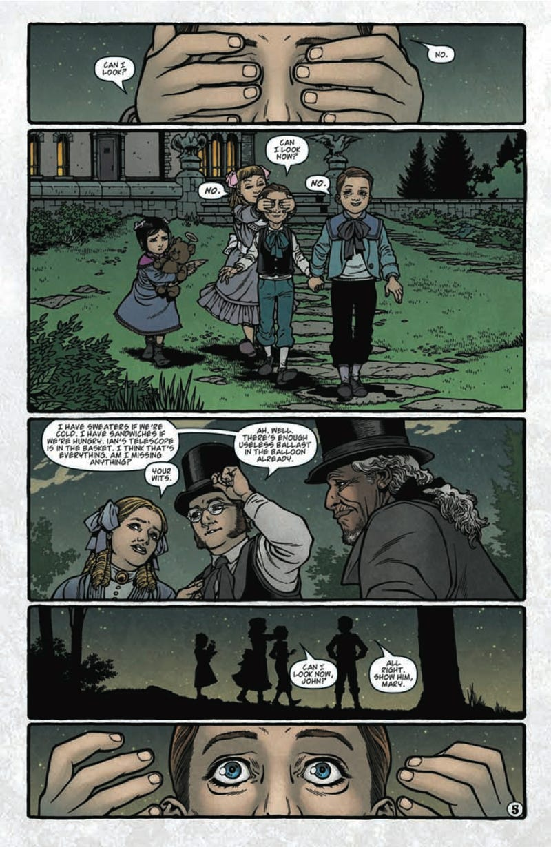 Read a five-page preview of Locke & Key: The Guide To The Known Keys!