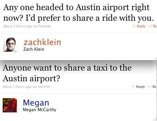 The Twitterati Hitch a Ride