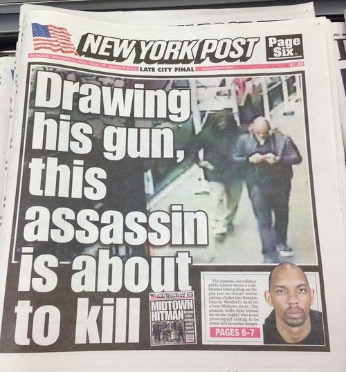 New York Post Runs Yet Another Creepy Murder Cover