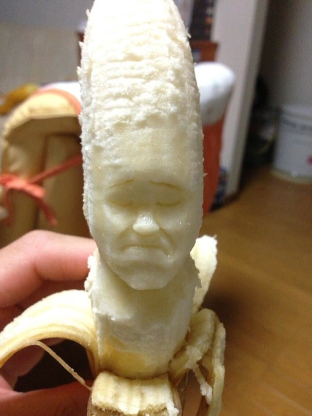 Japanese Banana Art Is So Damn Appealing