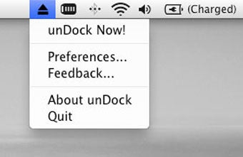 unDock Supercharges Your Mac's Disk-Ejecting Functionality