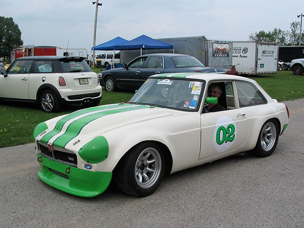 The Fastest MG In North American Road Racing: Les Gonda's 1973 MGB-GT