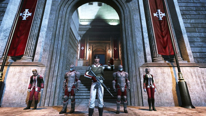 The Secret World's Templars Want to Punch Evil Right in the Junk