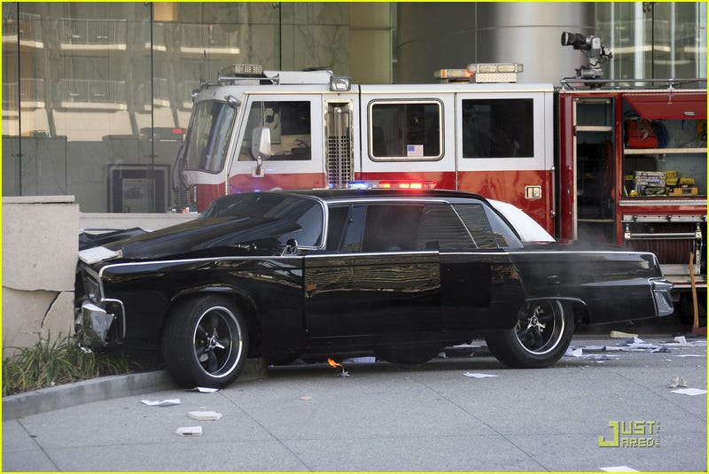 Green Hornet's Black Beauty Wrecked On Set, Kato To Blame?