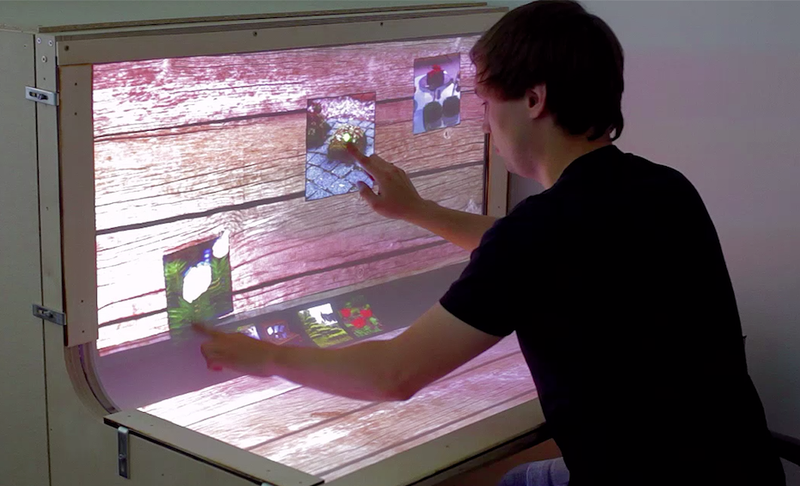 What If Your Entire Desk Were a Touchscreen?
