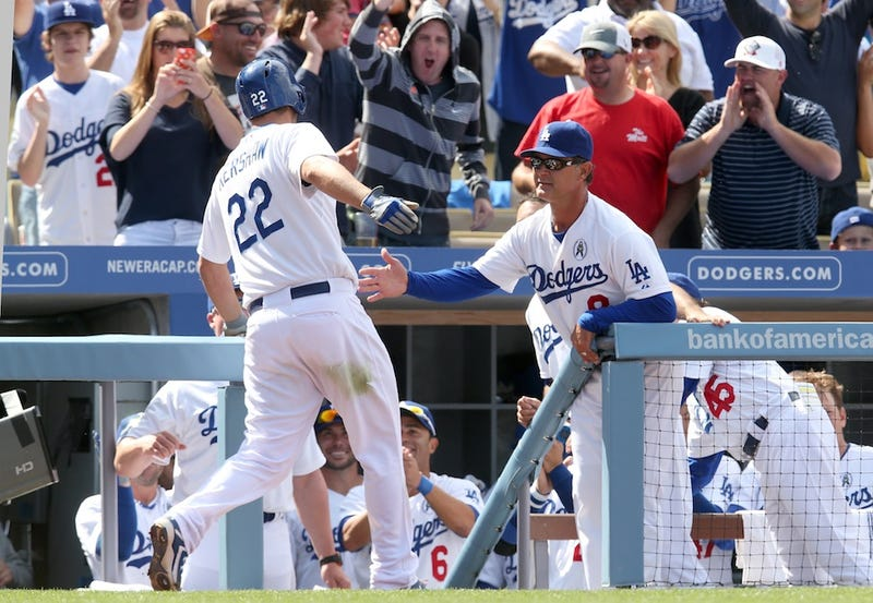 Here's Clayton Kershaw's Game-Winning Home Run