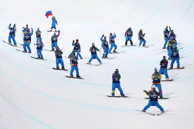 Sarah Burke's Former Coach Spreads Her Ashes On Sochi Halfpipe