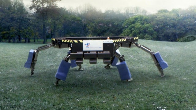 Meet the French Rugby Team's Six-Legged Scrum Bot