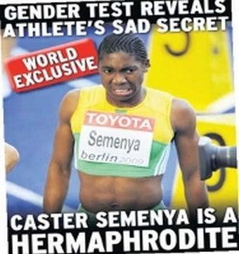 "Australian News Report Describes Semenya As ""Hermaphrodite,"" Sparking Anger, Outrage"