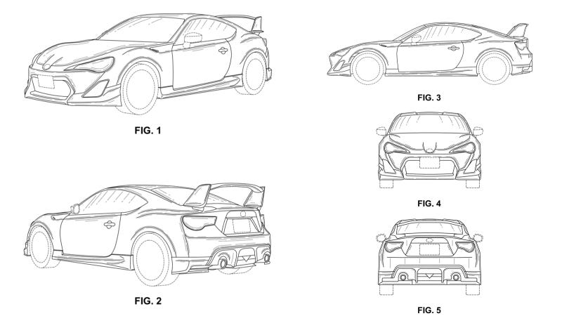What Could These Mysterious Toyobaru Patents Mean?