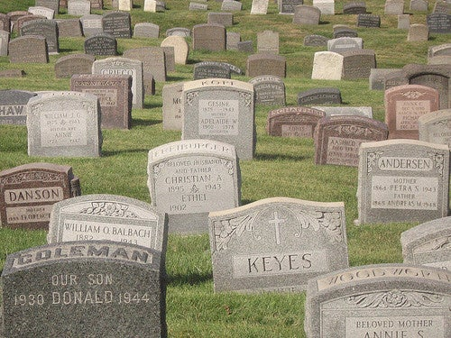All Sorts of Fun Stuff Going On In Nation's Cemeteries