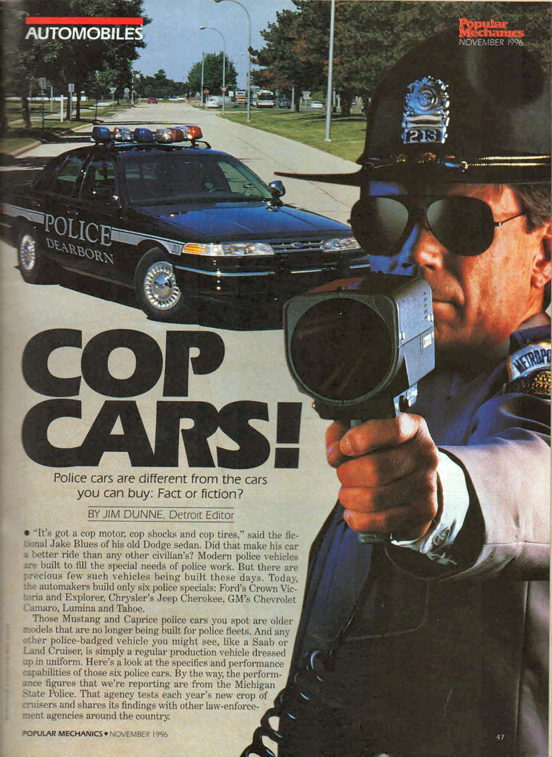 Back to the future - Cop Cars