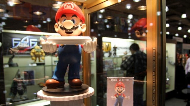 An Invasion Of Mario, Donkey Kong and Kirby Toys
