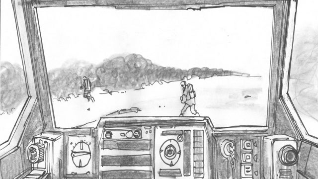 Unseen Empire Strikes Back Storyboards Detailing the Battle of Hoth!