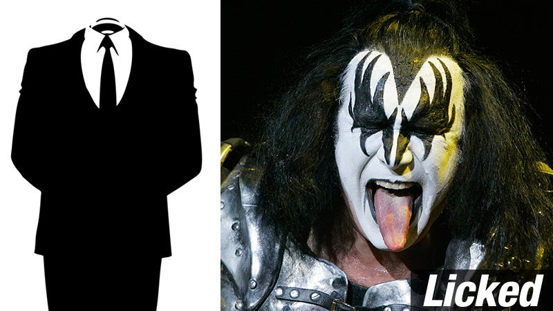 Gene Simmons Scores One Against Anonymous
