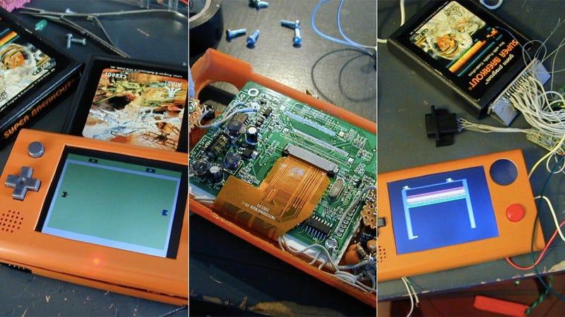 """Atari 2600 """"Stella"""" Mod Provides Pure, Portable Nostalgia"""
