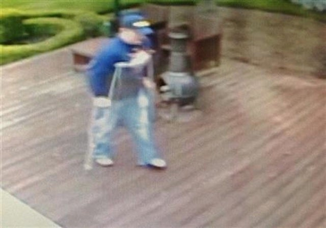 Kid Rock Offers Reward For Information About Thieving Man On Crutches