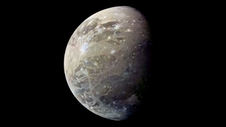 Ganymede's Bizarre Bulge Baffles Scientists