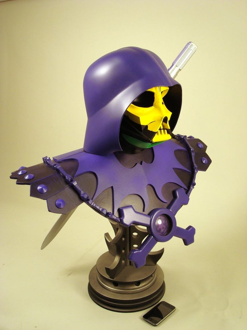 Darth Skeletor is Ready to Battle He-Skywalker