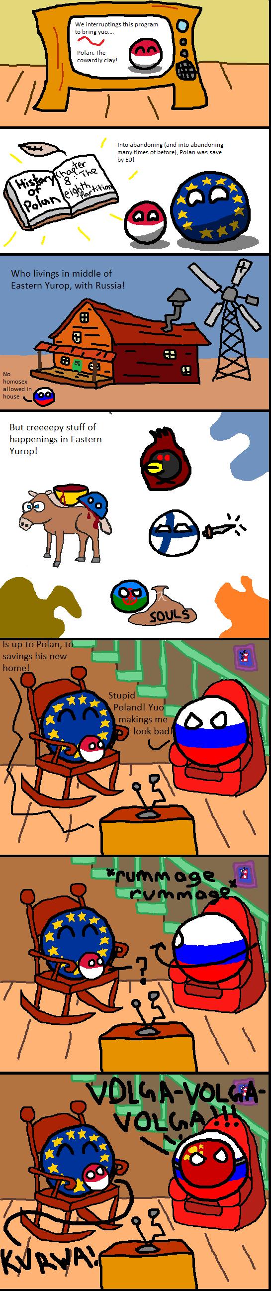 Poland the Cowardly Clay!