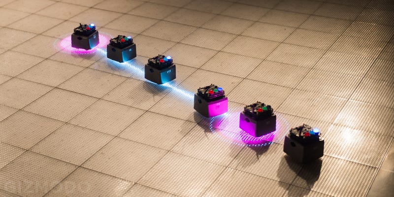 Bee-Inspired Bots Skitter and Swarm at NYC's Museum of Mathematics