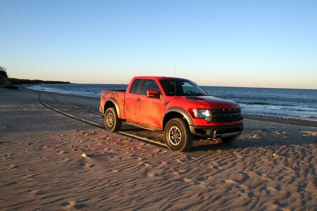 Hooning The Ford Raptor