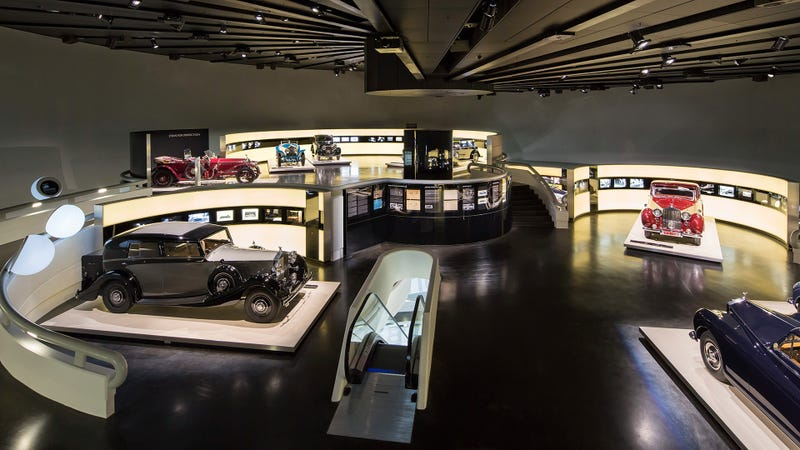 Check Out The BMW Museum's Quintessentially British Rolls-Royce Exhibit