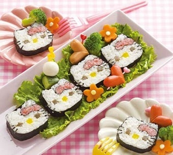 Hello Kitty Continues Her Quest For World Domination By Entering The Sushi Market
