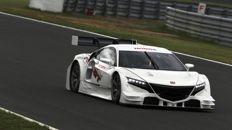 The New NSX Race Car Looks Like An Angry Transformer