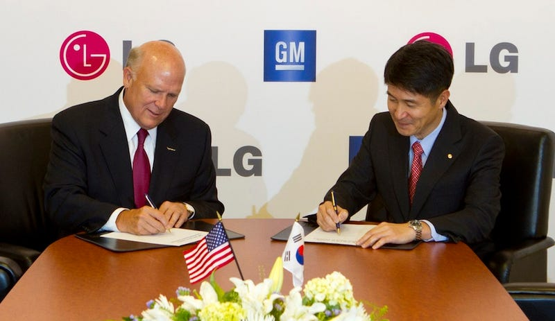 GM to build electric cars with LG
