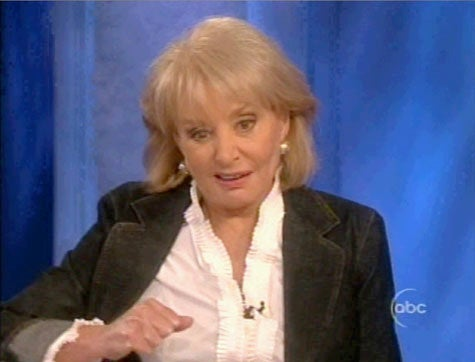 Barbara Walters Always Has Sex On The Brain