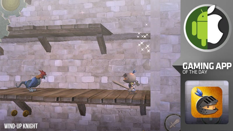 I May Stink At Wind-Up Knight, But You Should Play It