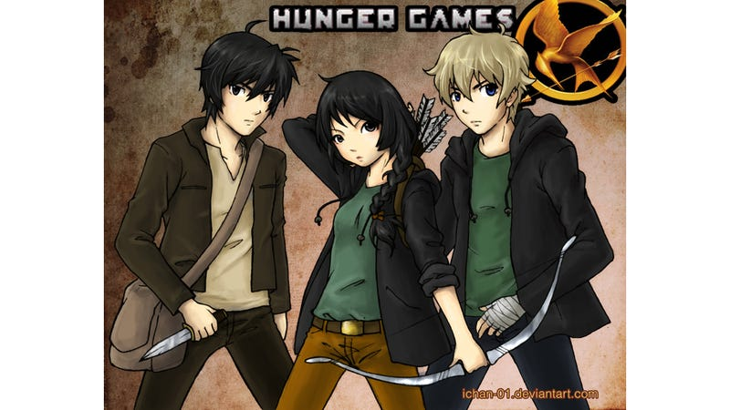 Hunger Games Fervor Makes For Awesome Fan Art