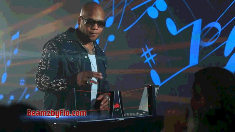 Rapper Flo Rida Is Selling a Laser DJ Toy Called Beamz® By Flo